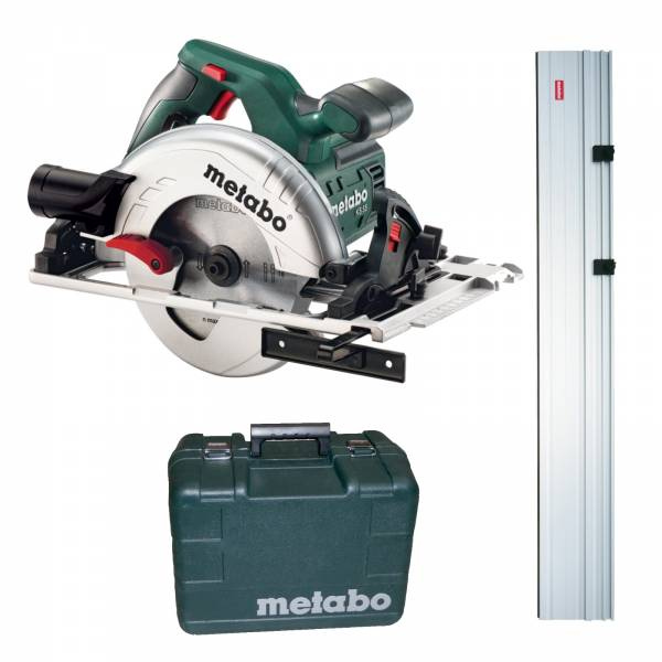 metabo scie circulaire manuelle ks 55 fs rail de guidage 1500 mm accessoire ebay. Black Bedroom Furniture Sets. Home Design Ideas