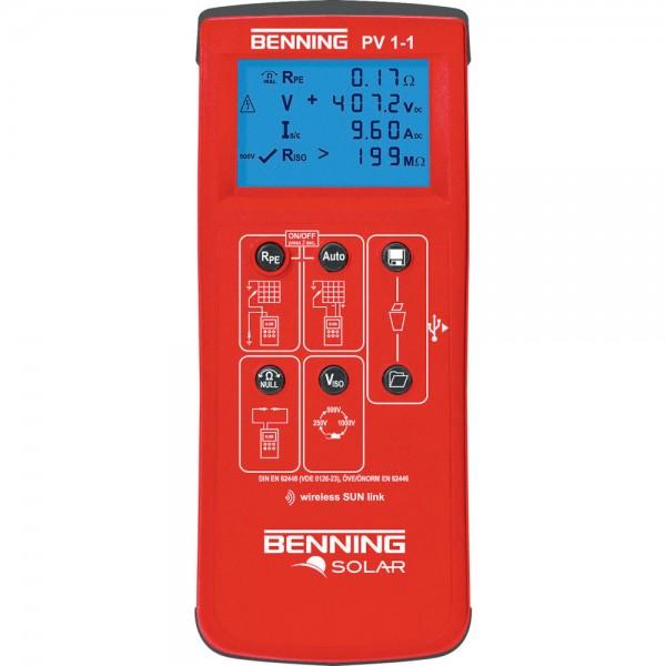 Installationstester PV 1-1 Benning