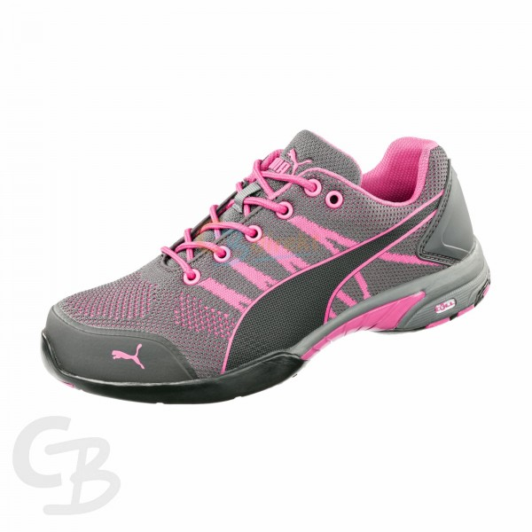 CELERITY KNIT PINK DAMEN WNS LOW S1 HRO SRC, PUMA 642910