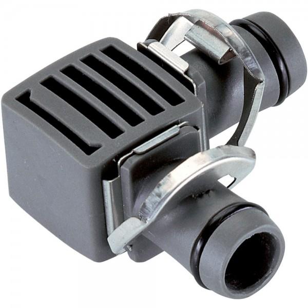 """2x Gardena MDS L-Stück 13 mm (1/2"""") Micro-Drip-System 8382"""