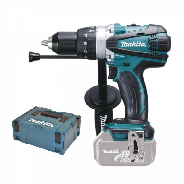 makita akku schlagbohrschrauber 18v dhp458y1j solo makpac 2 bhp458 rfj rfe ebay. Black Bedroom Furniture Sets. Home Design Ideas