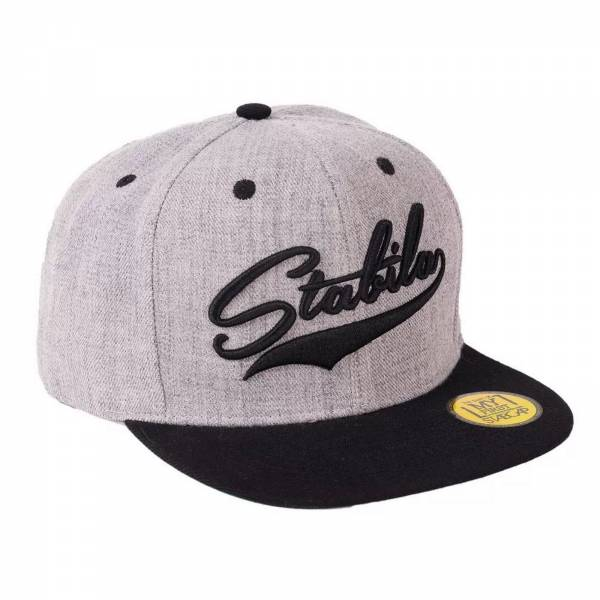 Snapback Myfirst STABILA Cap schwarz grau…made by STABILA