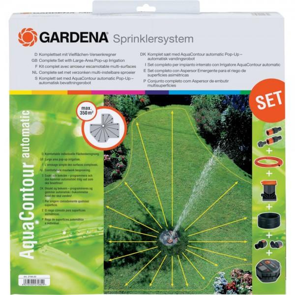 Gardena Komplett Set Versenkregner AquaContour automatic 2708