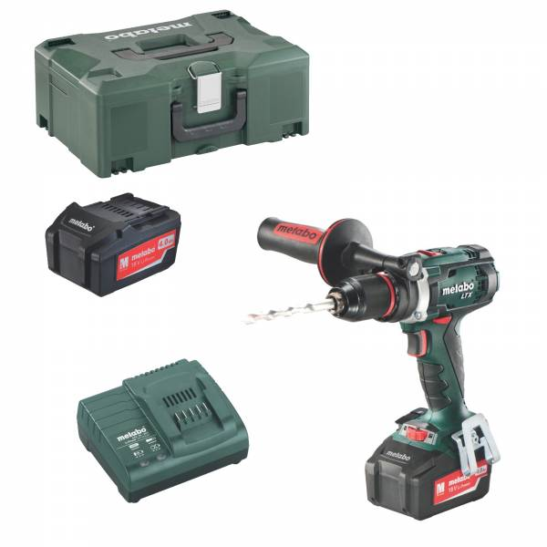 metabo akku bohrschrauber bs 18 ltx impuls 2x4ah ladeger t metaloc ebay. Black Bedroom Furniture Sets. Home Design Ideas