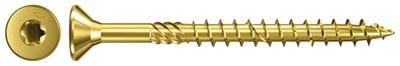 fischer Power-Fast Spanplattenschraube TX Senkkopf gelb vz TG Ø 3,0-6,0 mm