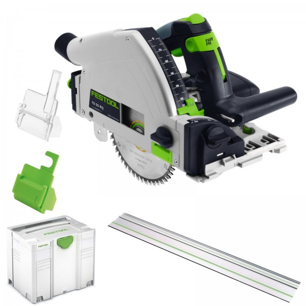 festool handkreiss ge tauchs ge ts 55 r q plus fs 712634 rq inkl f hrungsschiene ebay. Black Bedroom Furniture Sets. Home Design Ideas