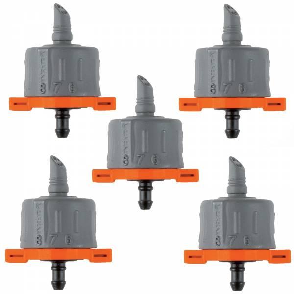 5x Gardena Endtropfer regulierbar 8316 Micro-Drip-System