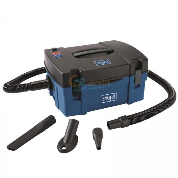 scheppach Absauganlage HD2P mit Aufblasfunktion 1250 Watt
