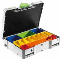 Festo / Festool Systainer T-Loc SYS 1 Box 497694 inkl. Einsätzen ersetzt 487552