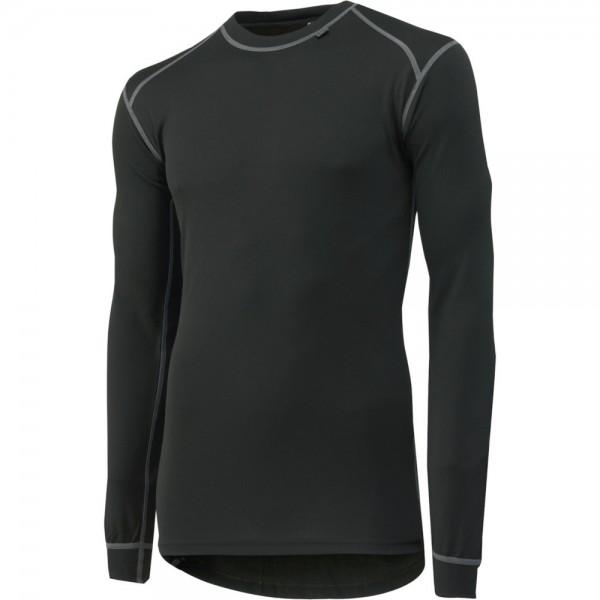 Langarmhemd Kastrup, schwarz