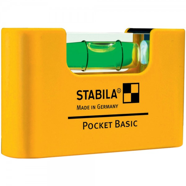 Mini-Wasserwaage Pocket Basic 7cm Stabila