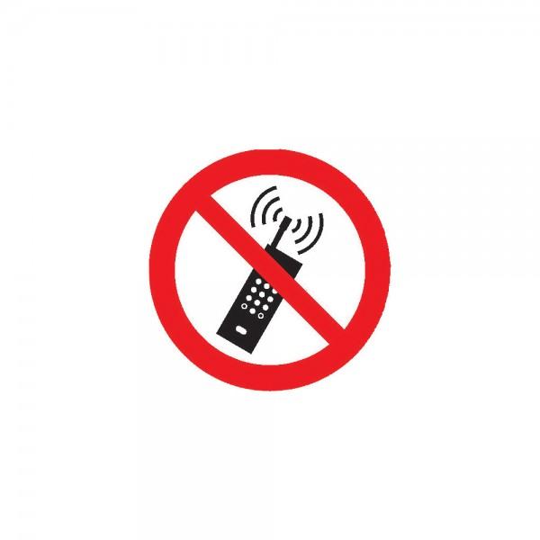 Verbotsschild Fol Mobilfunk D100mm