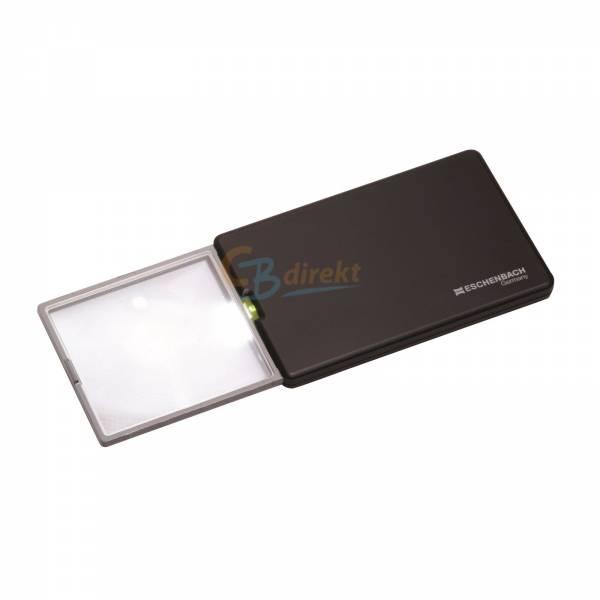Eschenbach Taschenleuchtlupe easy Pocket 3fach 8,0 dpt LED Lupe