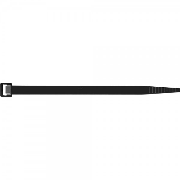 Kabelbinder schwarz UV 100x 2,5mm a100Stk. Sapi