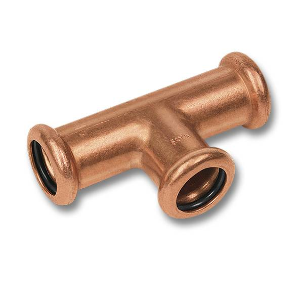 Sanha T-Stück Pressfitting Kupfer Nr Auswahl 12-15-18-22-28-35-42mm i//i 6130
