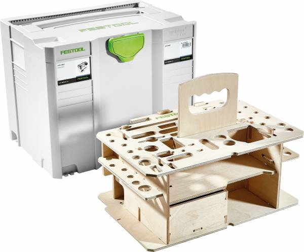 Festool Systainer T-Loc SYS-HWZ + Holzeinlage 497658