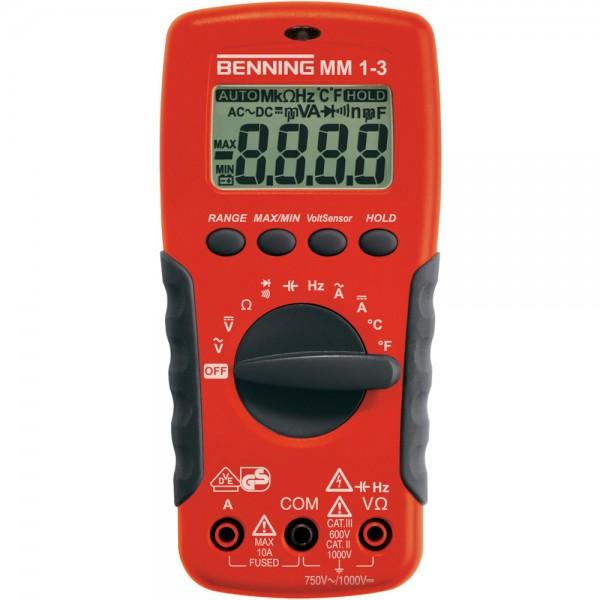 Digital-Multimeter MM 1-3 Benning