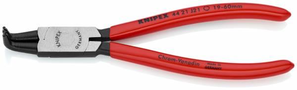 KNIPEX 44 21 J21 Sicherungsringzange für Innenringe in Bohrungen 170 mm schwarz atramentiert mit Kun
