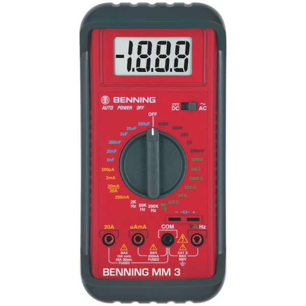 Digital-Multimeter MM 3 Benning