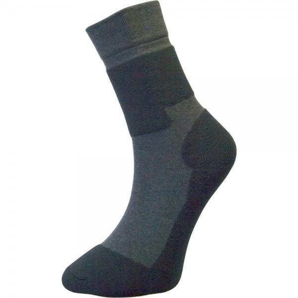 Funktionssocke F5, schwarz/grau