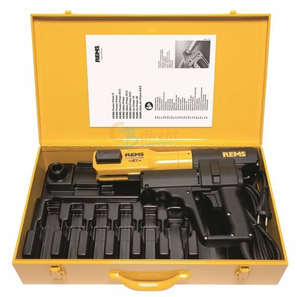 REMS Presszange Pressmaschine Power-Press ACC Basic-Set Elektrohydraulisch 577010