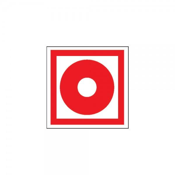 Brandschutzschild Fol Brandmeld. 200x200mm