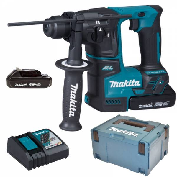 makita akku bohrhammer 18v dhr171raj 2x2 0 ah akku ladeger t makpac ebay. Black Bedroom Furniture Sets. Home Design Ideas