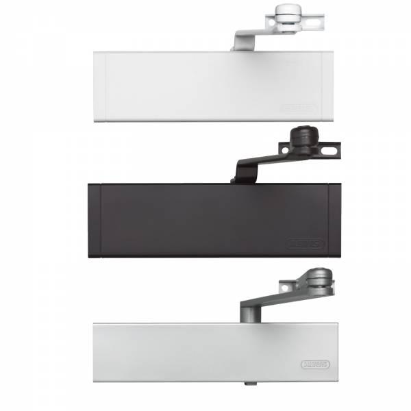 Abus Türschließer 7603 für Haus-und Wohnungstüren Braun Silber Weiß links rechts