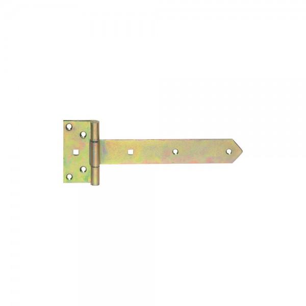 Kreuzgehänge 35x2,5x250mm gelb verz. VPE 10