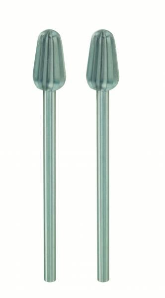 PROXXON Konusfräser 6 mm, 2 Stück 28723 Wolfram-Vanadiumstahl