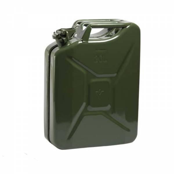 Benzinkanister Stahlbl. 20l GS+UN-gepr. Oliv