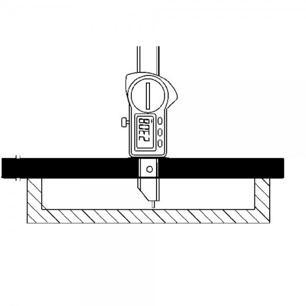 Messbrücke 200mm Preisser