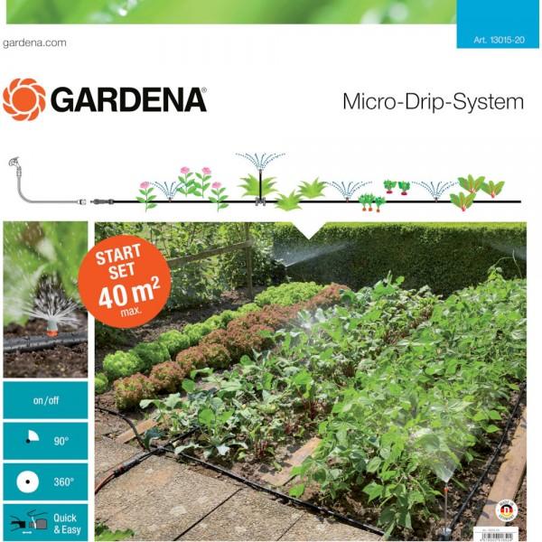 Gardena MDS Start-Set Pflanzflächen für 40 qm mit Sprühdüsen 13015