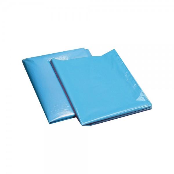 Müllsack 240 l blau ca. 90 my lose VPE 50