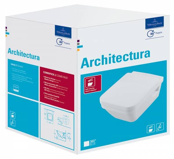 VB Combi-Pack Architectura 5685 wandhängend Weiß Alpin