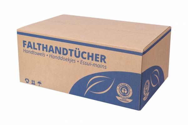 5000 Handtuchpapier Classic Natur 1-lagig 25x23cm Z/V-Falz RC Papierhandtuch