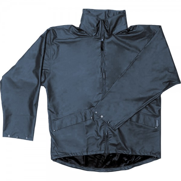 Regenjacke, PU-Stretch