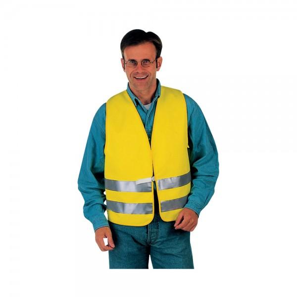 Warnweste Max, Gr. L, Textil, gelb