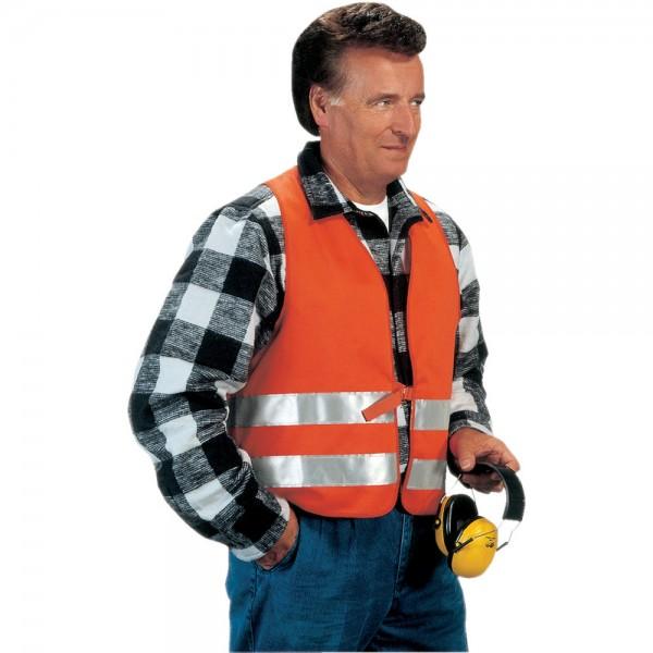 Warnweste Wilfried, Gr. L, Textil, orange