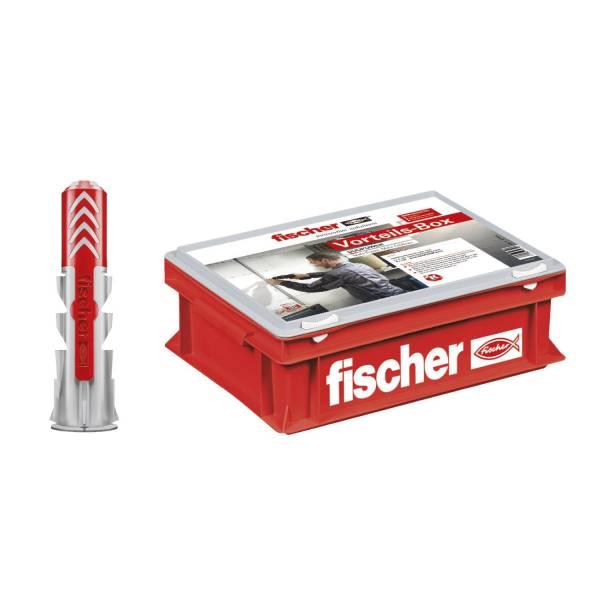 fischer Vorteils-Box DuoPower Dübel 6x30mm 8x40mm im Kunststoffkoffer