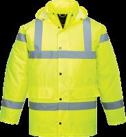 Warnschutzjacke Traffic Jacke PU-beschichtet Signalfarben ISO 20471