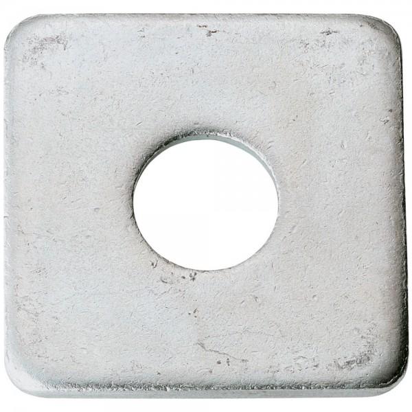 Scheibe 4kt. DIN 436 13,5 mm verzinkt