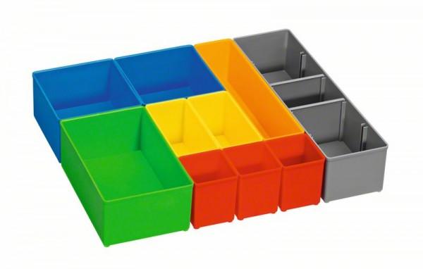 BOSCH BOXEN FÜR KLEINTEILEAUFBEWAHRUNG, I-BOXX 72 INSET BOX SET 10 PCS
