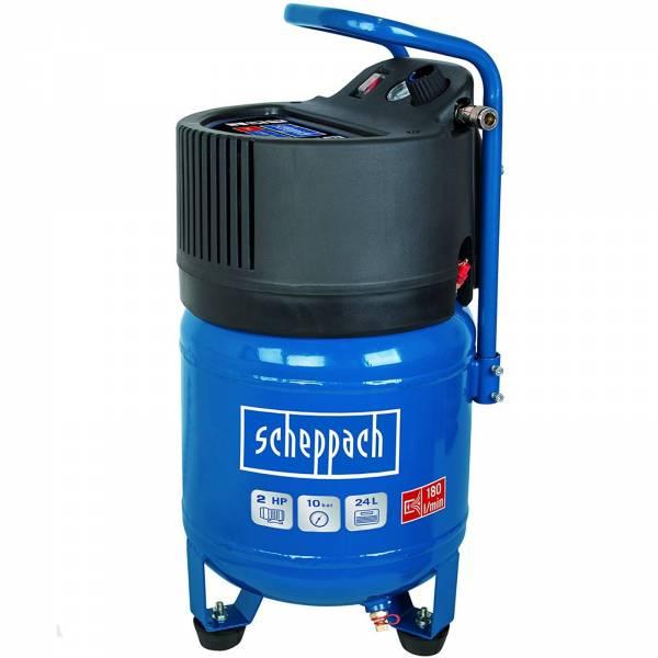 scheppach Kompressor HC24V 24 Liter Kessel 10 bar ölfrei 1500 W