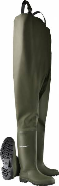 Dunlop Wathose Pricemastor grün