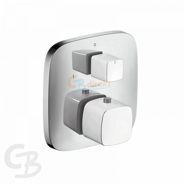 HG Thermostat UP PuraVida F-Set weiss/chrom m.Absperr-und Umstellventil Hansgrohe 15771400