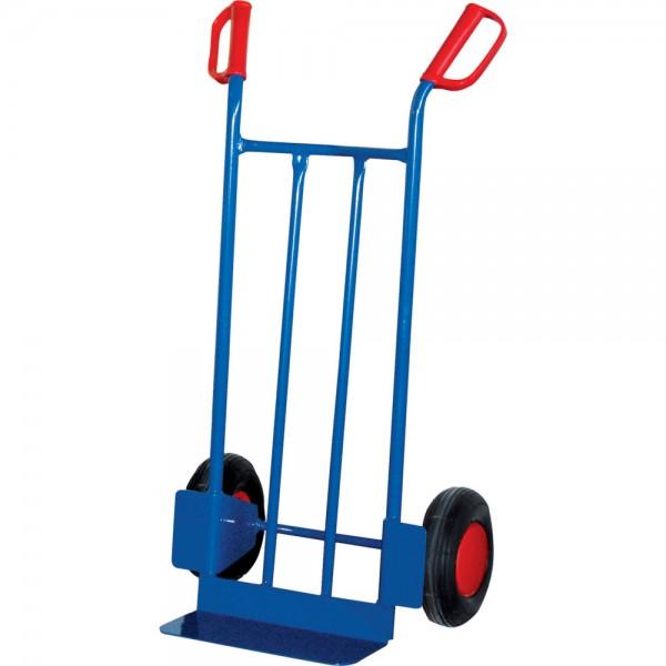 Stahlrohrkarre 250 kg Schaufel 150x400 mm Luft