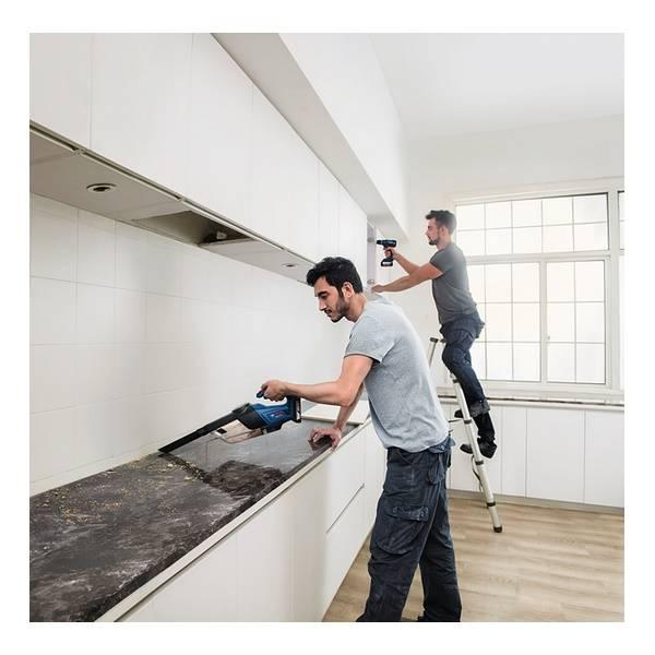 bosch akku staubsauger gas 18v 1 professional solo handsauger hand sauger ebay. Black Bedroom Furniture Sets. Home Design Ideas