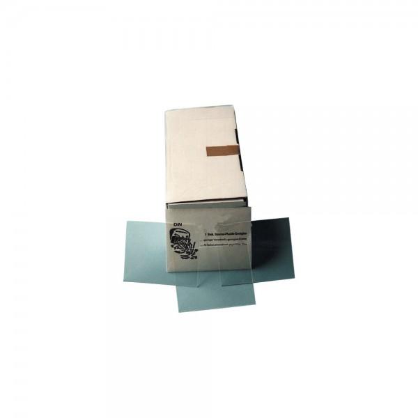 Vorsatzglas klar DIN 90x110mm VPE 10