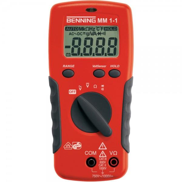 Digital-Multimeter MM 1-1 Benning